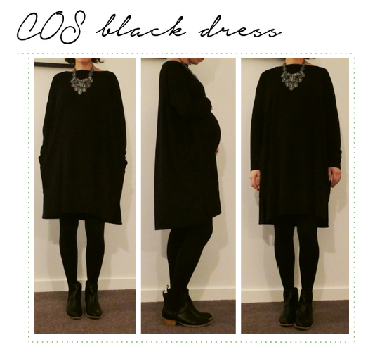 madre madewell COS black dress