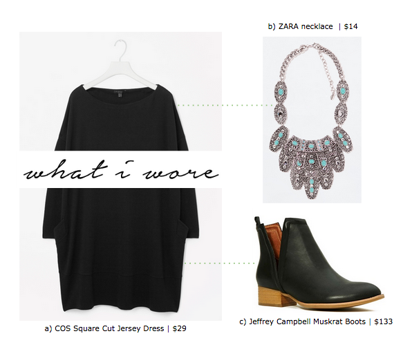 madre madewell outfit grid COS jeffrey campbell zara