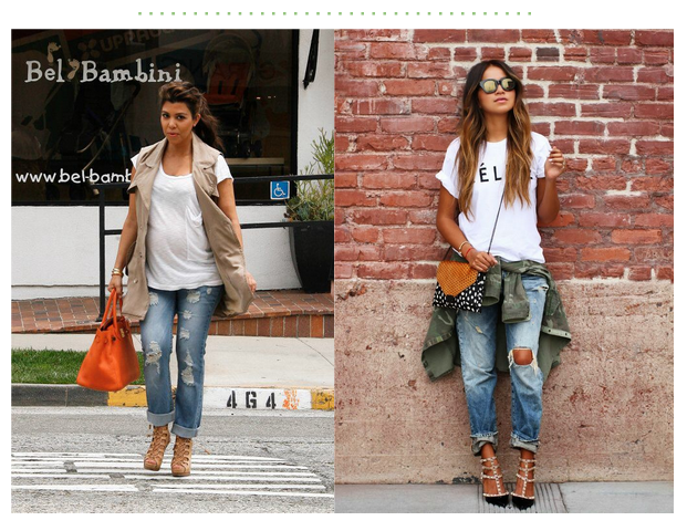 Boyfriend jeans & distressed denim – MAKING la MADRE