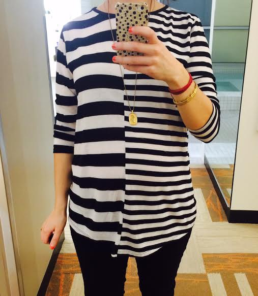 asos striped maternity shirt madre madewell