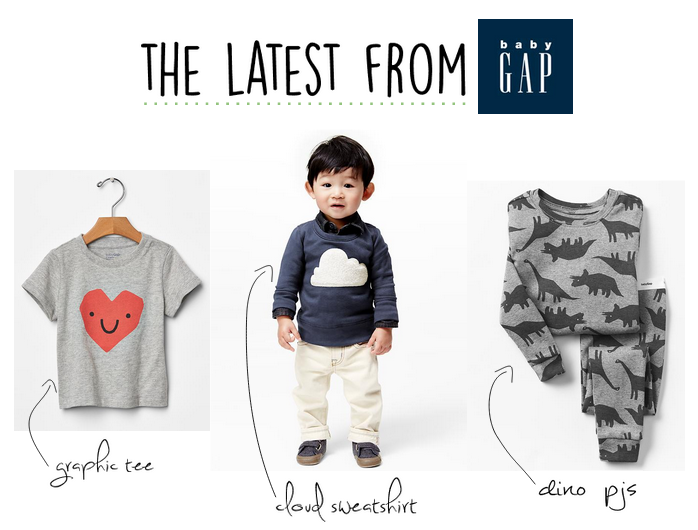 baby boy favorites from the GAP