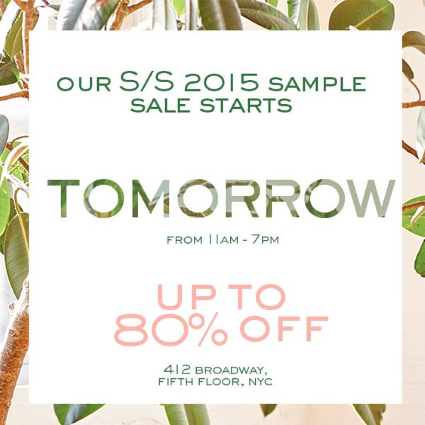 hatch collection sample sale